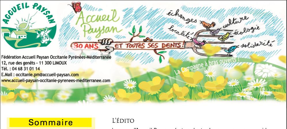 Le Journal d'Accueil Paysan Occitanie #28
