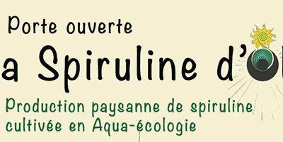 Porte ouverte de la Spiruline d'Olt chez Adrien Galaret